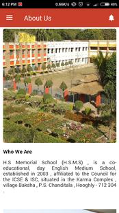 Screenshots - H.S Memorial School
