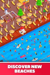 Screenshots - Idle Beach Tycoon : Cash Manager Simulator