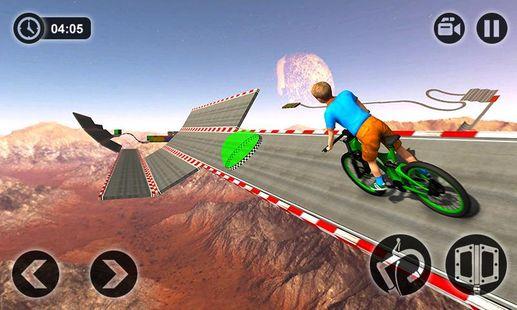 Screenshots - Impossible Kids Bicycle Rider - Hill Tracks Racing