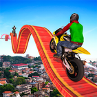 Mengemudi Stunt Sepeda Motor Yang Tidak Mungkin