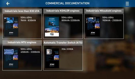 Screenshots - Industrial generators