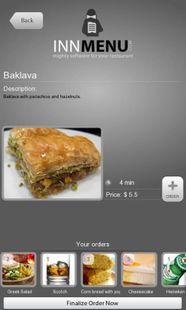 Screenshots - Innmenu free - restaurant menu