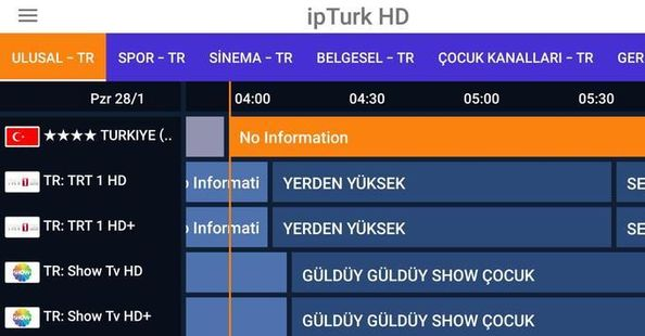 Screenshots - İPTURKHD TV