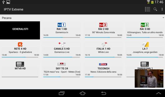 Screenshots - IPTV Extreme