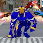 Iron Superhero Rescue : Flying Superhero Games