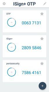 Screenshots - ISign+ OTP