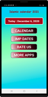 Screenshots - Islamic/Urdu calendar 2021