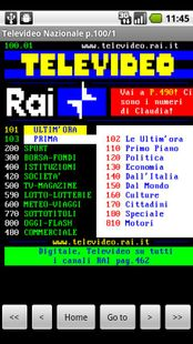 Screenshots - Italian Teletext