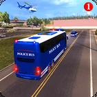 Jail Prisoner Police Truck Transport Parking