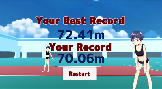 Screenshots - Javelin throw