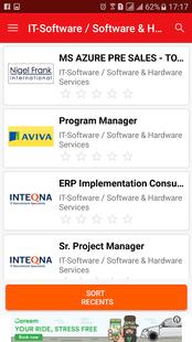 Screenshots - Jobs in Canada