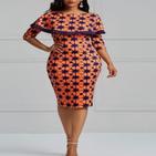 Kanga Fashion Dresses Styles