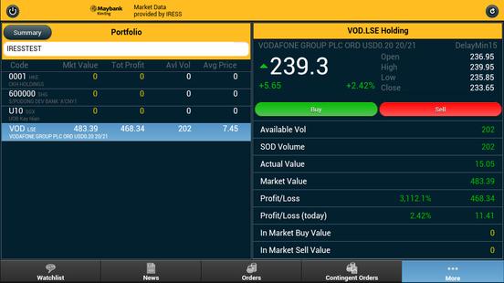 Screenshots - KE CFD SG