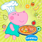 Kids cafe. Funny kitchen game