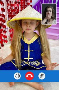 Screenshots - Kids Diana Fake Video Call 2021