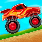 Kids Monster Truck Hill Rush