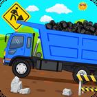 Kids Road Builder - Kids Construction Games
