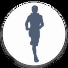 Kilometers: GPS Track Walk Run