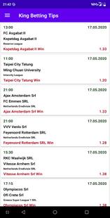 Screenshots - King Betting Tips