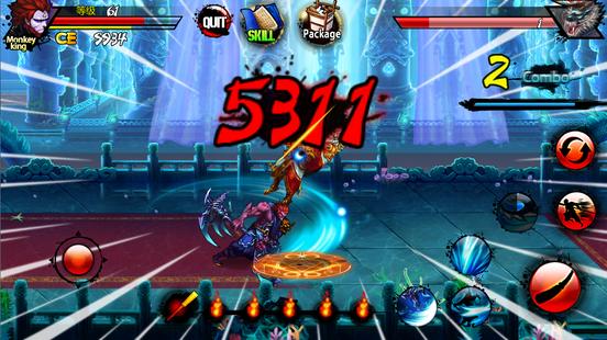 Screenshots - King of war-Evilkind's revenge