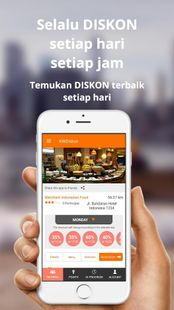 Screenshots - Klik Diskon - Diskon up to 50% di Restoran Favorit