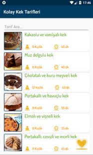 Screenshots - Kolay Kek Tarifleri (İnternetsiz)