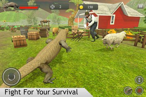 Screenshots - Komodo Dragon Family Sim: Beach & City Attack