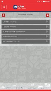 Screenshots - Kotak Mahindra General Insurance Company Ltd