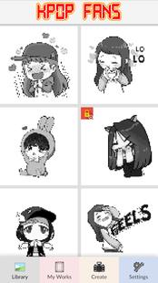 Screenshots - KPOP Fans - Pixel Art