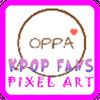 KPOP Fans - Pixel Art