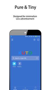 Screenshots - KUTO Video Browser-Web video downloader & player