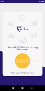 Screenshots - KV Classes: Exam Preparation App