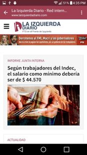 Screenshots - La Izquierda Diario