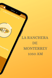 Screenshots - La Ranchera de Monterrey 1050 AM Online