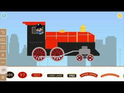 Video Image - Labo Brick Train Build Game For Kids & Preschool