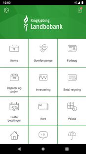 Screenshots - Landbobankens Mobilbank