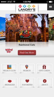Screenshots - Landrys Select Club