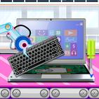 Laptop Factory: Computer Builder & Maker Games