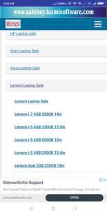 Screenshots - Laptop for sale Hp Laptop Dell Laptop & HP Laptops