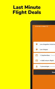 Screenshots - Last Minute Flight Deals