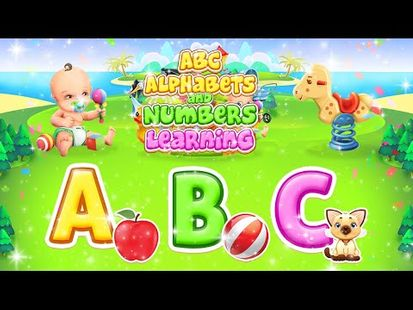 Video Image - Learn ABC Alphabets & 123 Numbers Kids Game