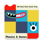 Learn ABC Phonics Name Place Animal Things & Games