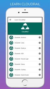 Screenshots - Learn All Latest Technologies Tutorials Offline ⭐️