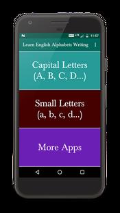 Screenshots - Learn English Alphabets Writing