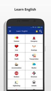 Screenshots - Learn English Language - Speak English Fluently