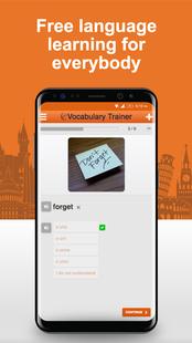 Screenshots - Learn Romanian Words Free