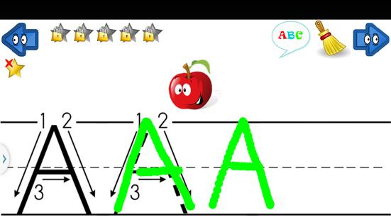 Screenshots - Learn Write Letters abc 123