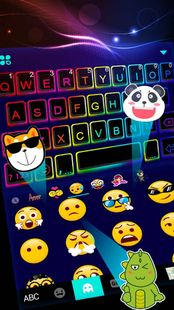 Screenshots - Led Neon Color Keyboard Theme