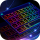 Led Neon Color Keyboard Theme