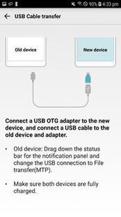 Screenshots - LG Mobile Switch